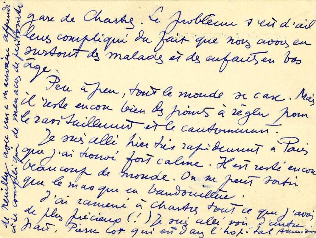 Lettre à Sa Mère Et à Sa Sœur Redécouvrir Jean Moulin